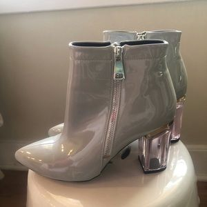 Patent leather booties by Ego Size 7